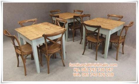 Meja Kursi Bekas Restoran kursi makan restoran model rustic kursi makan restoran furniture jati minimalis furniture