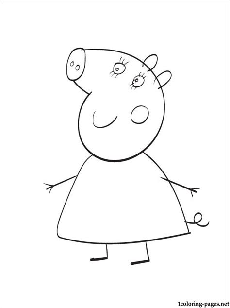 peppa pig princess coloring pages free princess pepper pig coloring pages