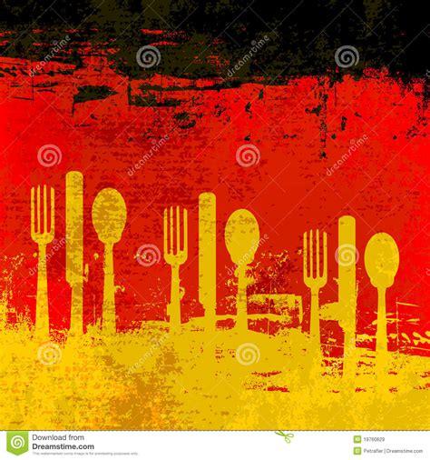 free german german menu template royalty free stock images image