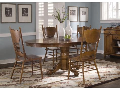 liberty dining room furniture liberty furniture dining room single pedestal table base