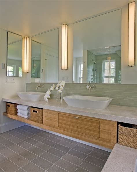 Badezimmer Unterschrank Diy by Waschbeckenunterschrank Aus Bambus Archzine Net