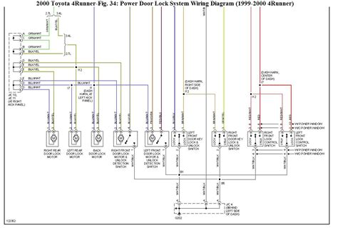 2000 4runner wiring diagram 2000 4runner radio wiring