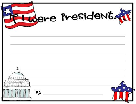 presidents day writing paper snaps presidents day freebie
