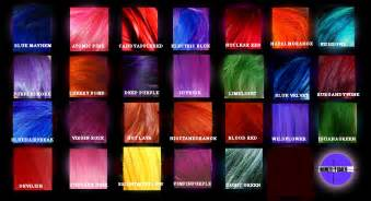 New special effects hair dye sfx semi permanent choose your colors at