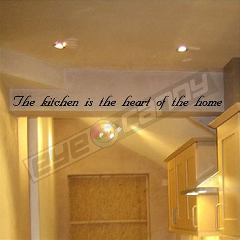 the kitchen is the wall quotes sayings words lettering