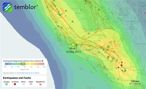 earthquake data m 4 1 santa barbara earthquake highlights local quake