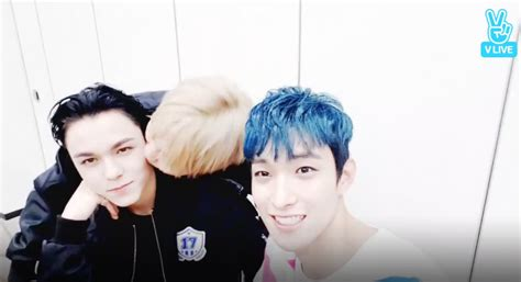 seventeen celebrates dk and vernon s birthdays with lots of kisses and laughter soompi