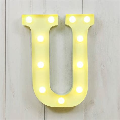 vegas metal led circus letter light m by all things