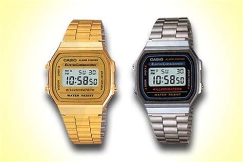 orologio oro casio orologio casio oro vintage uomo e donna nandida