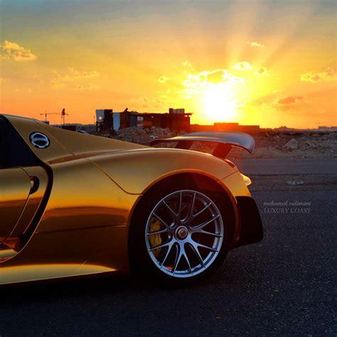 gold porsche 918 gold porsche 918 spyder in saudi arabia the saudi arab