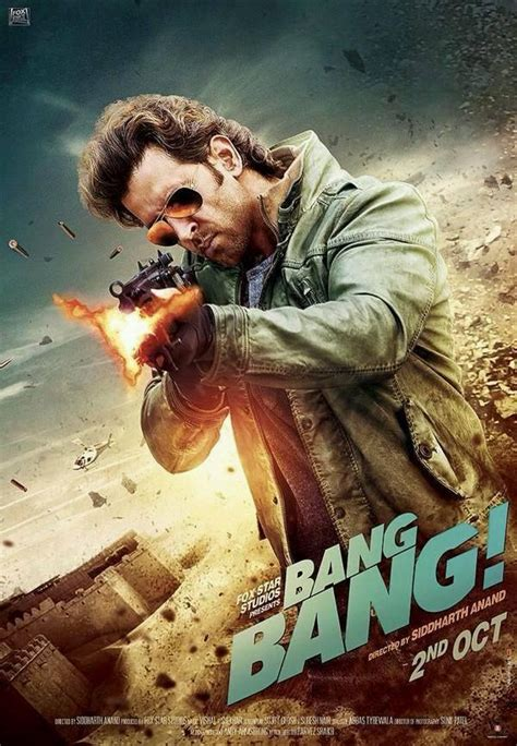 film india bang bang bang bang new poster ft hrithik roshan