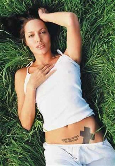 tattoo angelina jolie betekenis foto 5 copia i tatuaggi delle star tutto gratis