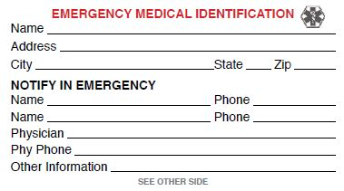 Emergency Card Template Free by Computer Technician Card Template Computer