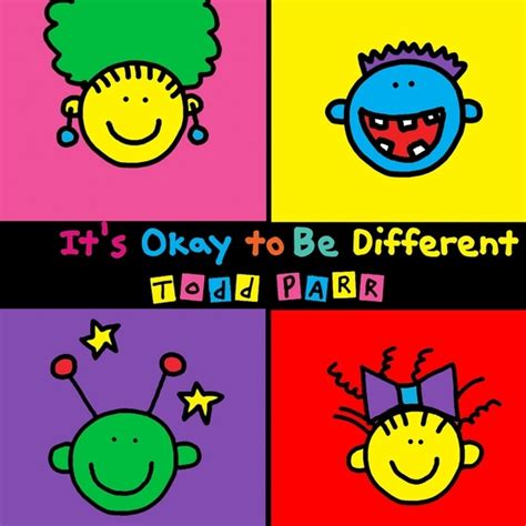 it s ok to be different books we todd parr an with the philanthropist