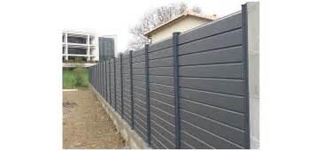 cloture jardin aluminium brise vue aluminium au prix d une cloture pvc ou cloture composite