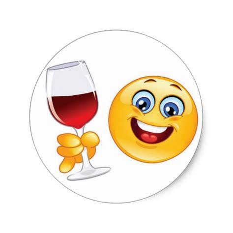 wine emoji christmas emoji sticker wine glass set of 20 zazzle com