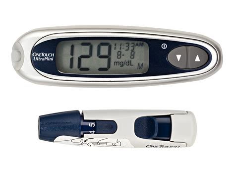 One Touch Glucose Meter One Touch Ultramini 187 Pharmacyvaluerx