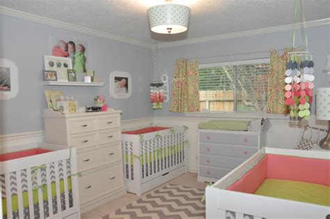 Playroom Ideas For Small Spaces by Triplet Girls Nursery Project Nursery