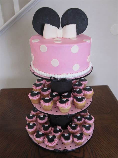 minnie mouse cake ideas baby shower cakes minnie mouse cake cupcakes stand