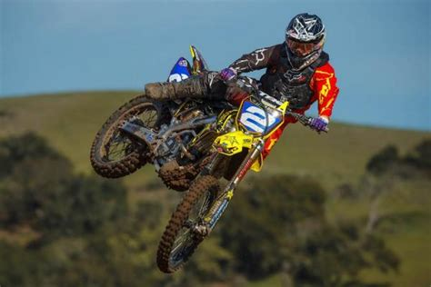 motocross pro riders rockstar energy racing suzuki signs patterson