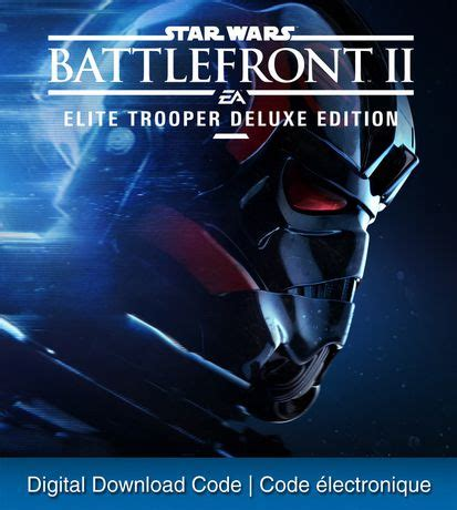 Bettlefront Starwars Ps4 Digital Playstation 4 ps4 wars battlefront ii elite trooper deluxe edition