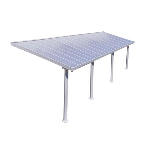 10 ft awning palram gala 10 ft x 30 ft patio cover awning 704099 the home depot