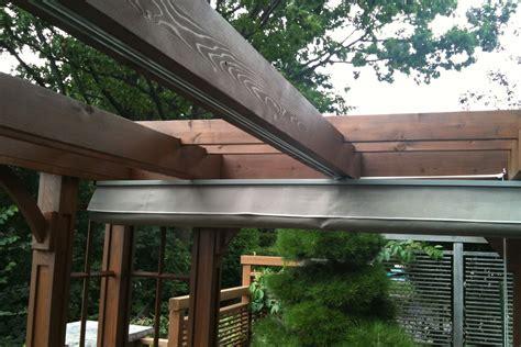 diy retractable pergola canopy diy retractable pergola shade canopy