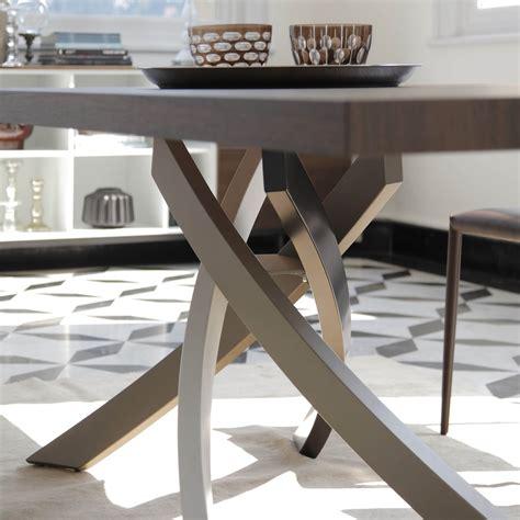 tavolo artistico bontempi tavolo allungabile con gambe incrociate artistico