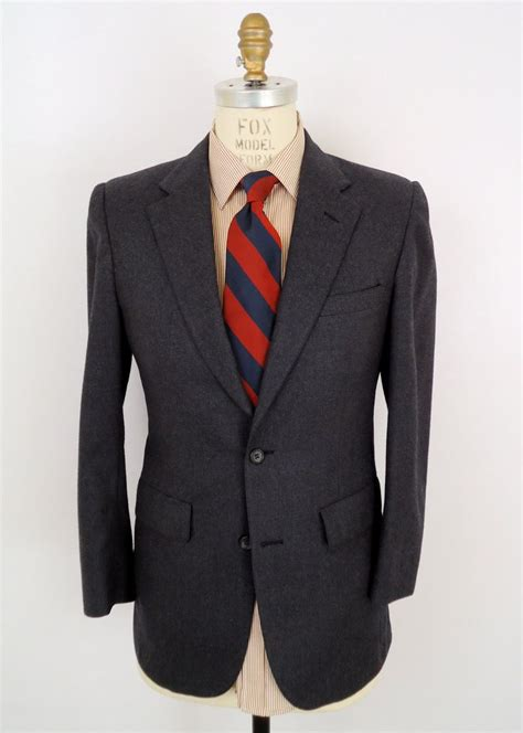Blazer V Brothers Style brothers charcoal blazer gray wool sport coat