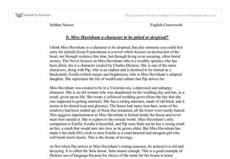 Miss Havisham Essay by Great Expectations Essay Great Expectations A Thematic Analysis Gcse Marked By Essay