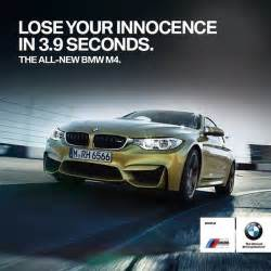 advertisement for a new car bmw m4 coupe whitty ad advertising cars speed