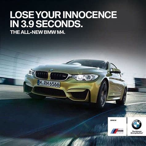 bmw advertisement bmw m4 coupe whitty ad advertising cars speed