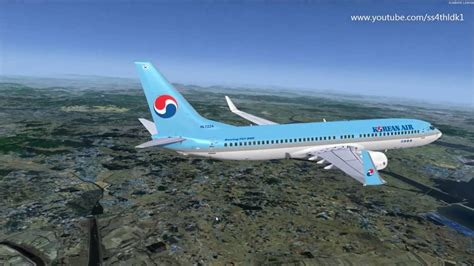 Tiket Flight Simulation Singapore Open Date p3d v3 35 pmdg 737ngx korean air 1219 rkss rkpc manual flight from descend fs2crew reboot