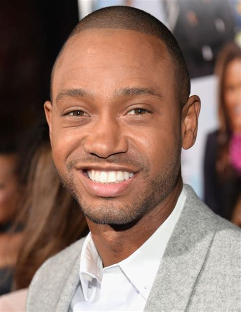 terrence j terrence j pictures baggage claim premieres in la
