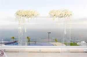 Formal Garden Party - white wedding ceremony decor