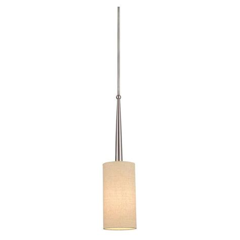 Philips Allure 1 Light Brushed Nickel Hanging Pendant Philips Pendant Light