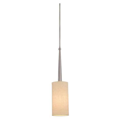 Philips Pendant Light Philips 1 Light Brushed Nickel Hanging Pendant M251878 The Home Depot