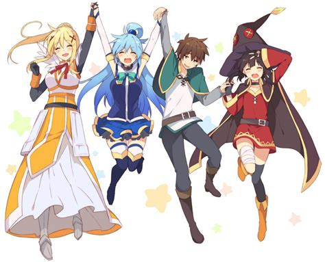 Anime 2 Season by Konosuba Tv Anime Receives Second Season