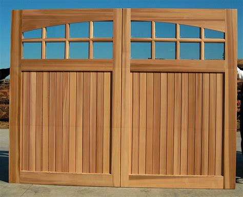 Wood Garage Door 1999 Un Finished 9 X 8 Sunburst 9 Garage Doors