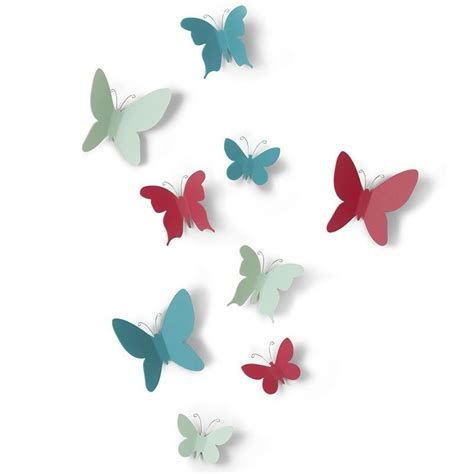 d 233 co murale papillons stickers 3d color 233 s par umbra
