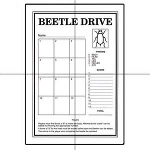 beetle drive cards