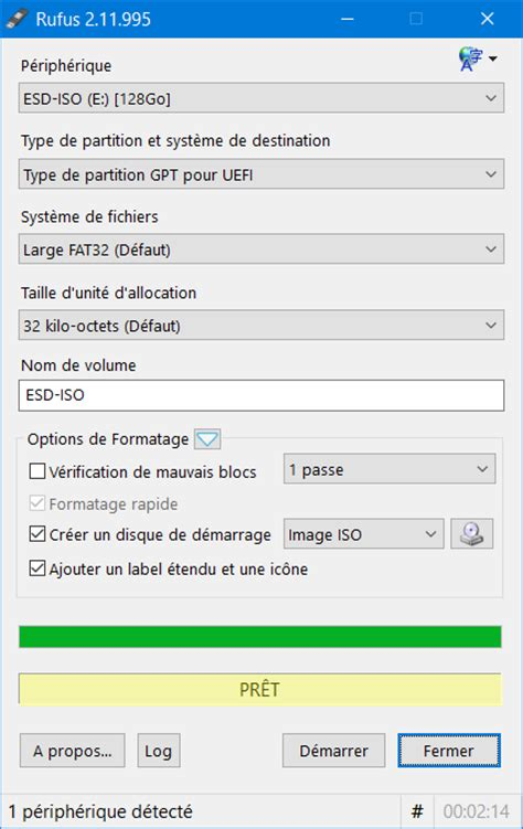 rufus tutorial windows 7 uefi cr 233 er une cl 233 usb d installation uefi de windows 10 8 1