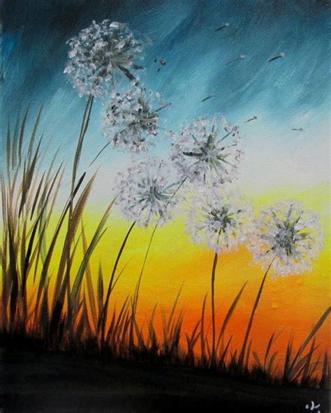paint nite kelowna summerhill 25 best images about dandelion painting on