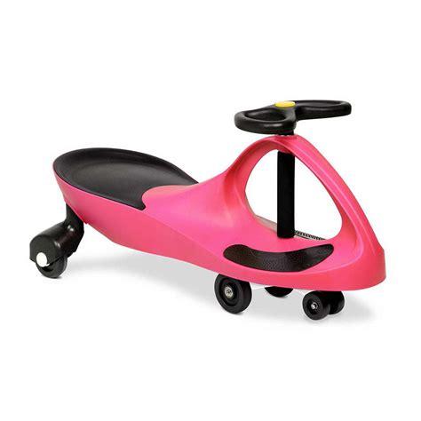 swing car toy kids swing car slider wiggle scooter swivel ride on toy w