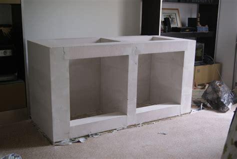 cuisine b騁on cellulaire meuble en beton cellulaire evtod