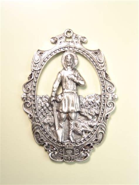 imagenes medallas catolicas medallas religiosas im 193 genes relieve quot san isidro labrador