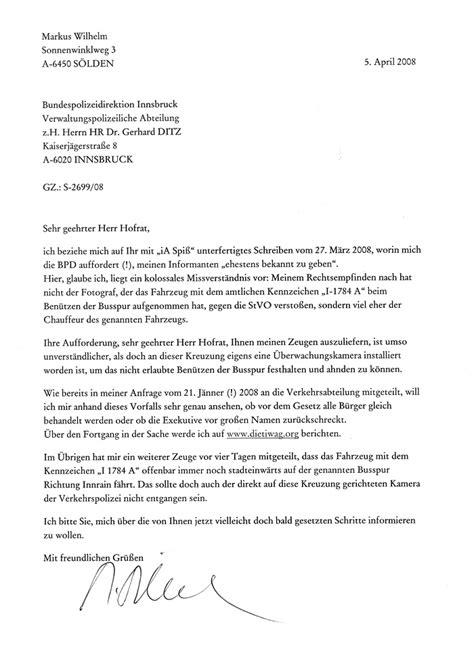 Und Verbleiben Mit Freundlichen Grüßen Brief Die Tiwag Org Briefe An Den Landeshauptmann
