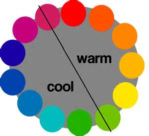 color theory warm vs cool dark brown hairs