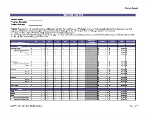 project costing template excel project costing template excel sletemplatess