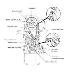 99 hyundai accent diagram timing marks thetiming belt